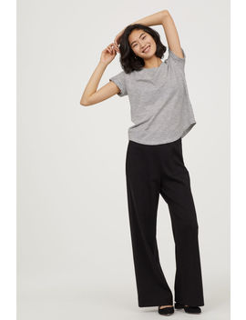 Weite Jerseyhose by H&M