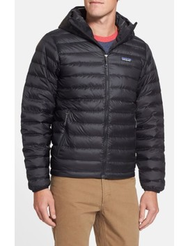 Packable Windproof & Water Resistant Goose Down Sweater Hooded Jacket by Patagonia