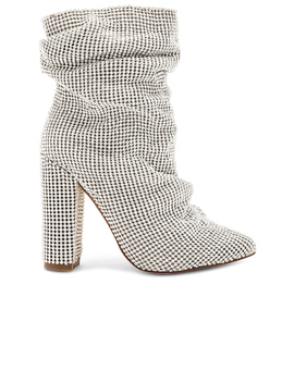 Crystal Chainmail Bootie by By The Way.