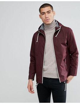 Brave Soul Contrast Zip Jacket by Jacket