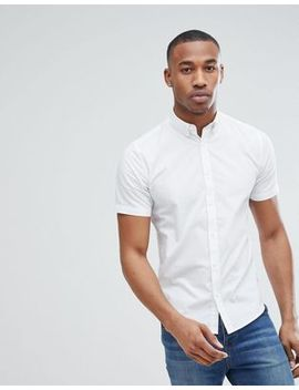 Only & Sons Short Sleeve Stretch Cotton Shirt by Only & Sons