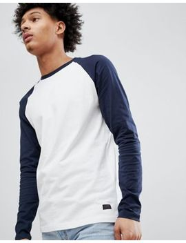 Produkt Long Sleeve Top With Contrast Raglan Sleeve by Produkt