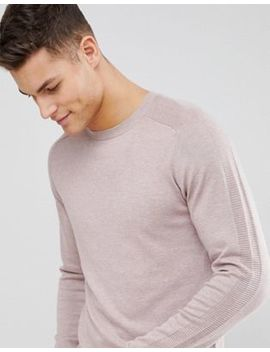 Selected Homme Knitted Jumper With Raglan Sleeve by Selected Homme