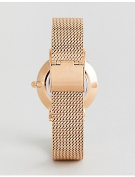 Cluse X Negin Clg006 Minuit Mesh & Velvet Interchangable Strap Watch Gift Box by Cluse