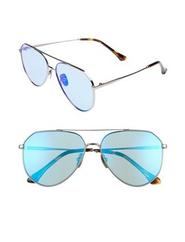 Dash 61mm Polarized Aviator Sunglasses by Diff