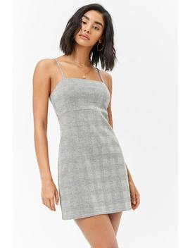 Glen Plaid Mini Dress by Forever 21