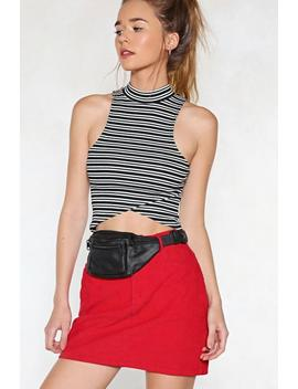 Me First Vegan Leather Fanny Pack by Nasty Gal
