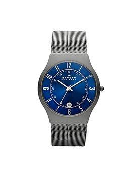 Skagen Men's 233 Xlttn Grenen Grey Titanium Mesh Watch by Skagen