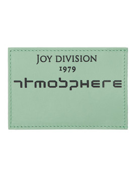 Blue Joy Division 'atmosphere' Card Holder by Raf Simons