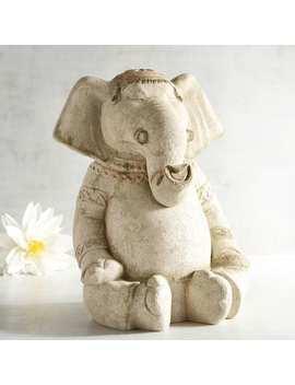 Lava Stone Yoga Elephant by Pier1 Imports
