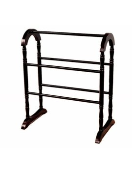 Frenchi Home Furnishing Quilt Rack, Espresso by Frenchi Home Furnishing