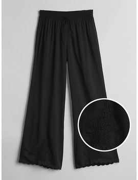 Dreamwell Embroidered Woven Pants by Gap