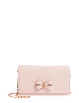 Melisia Bow Matinée Wallet On A Chain by Ted Baker London