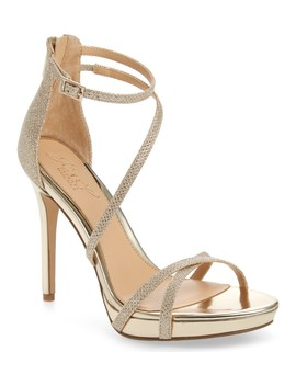 Galen Strappy Platform Sandal by Jewel Badgley Mischka