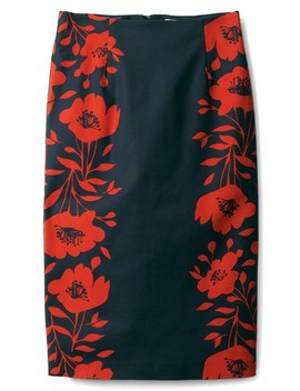 Richmond Print Skirt by Boden
