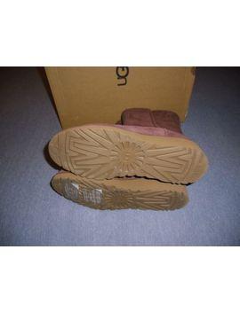 Nib Ugg Womens Amie Suede Boots Cordovan Size 8 by Ugg Australia