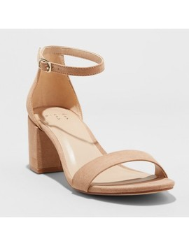 womens-michaela-mid-block-heel-pump-sandals---a-new-day by a-new-day