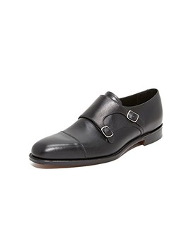 Cannon Monk Strap Shoes by Loake 1880