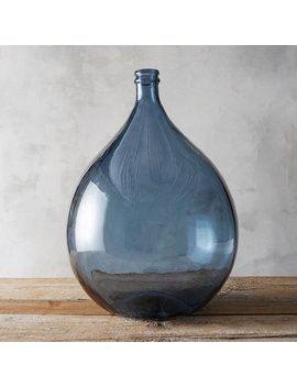 Recycled Glass Demijohn Vase by Terrain