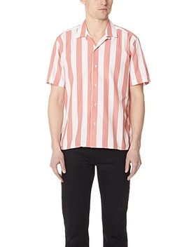 Wide Striped Camp Shirt by Gitman Vintage