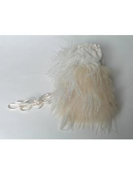 Oscar De La Renta Drawstring Runway Bridal Bag by 1stdibs