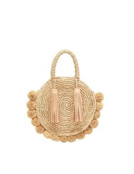 straw-circle-tote by loeffler-randall