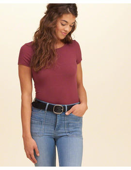 Classic Leather Belt by Hollister