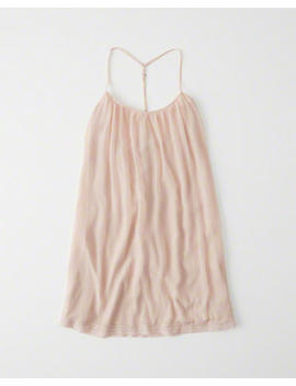 Lace Trim Swing Dress by Abercrombie & Fitch