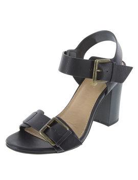 Women's Trina Block Heel Sandal by Learn About The Brand Brash
