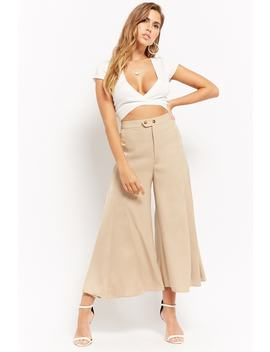 satin-panel-culottes by forever-21