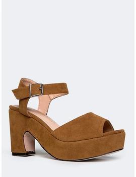 Chunky Platform Sandal by Zooshoo