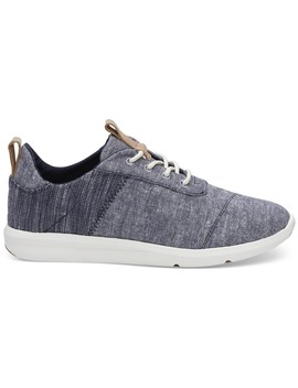 Navy Chambray Mix Women's Cabrillo Sneakers by Toms