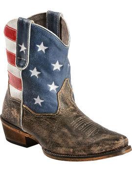 Roper Americana Shorty Boots   Snip Toe by Roper