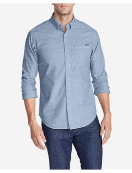 Men's Grifton Long Sleeve Shirt   Solid by Eddie Bauer