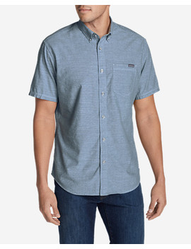 Men's Grifton Short Sleeve Shirt   Solid by Eddie Bauer