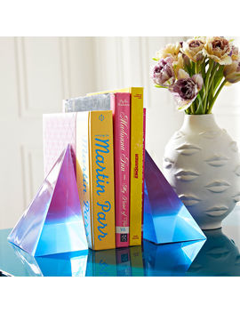 Neo Geo Bookend Set by Jonathan Adler