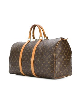 Louis Vuitton Monogram Keepall Travel Bag by 1stdibs