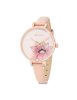 Akilah Round Strap Watch by Nine West