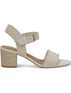 Birch Suede Women's Rosa Sandals by Toms