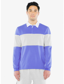 Thick Knit Rugby Team Shirt by American Apparel