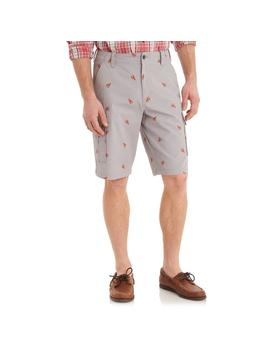 Lobster Print Cargo Short by G.H.Bass & Co.