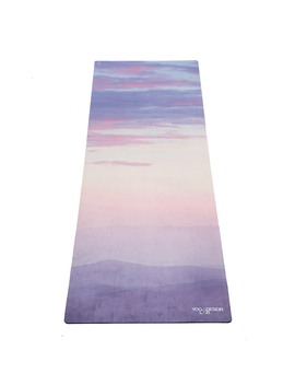 "Travel Yoga Mat ""Breathe"" by Yoga Design Lab"