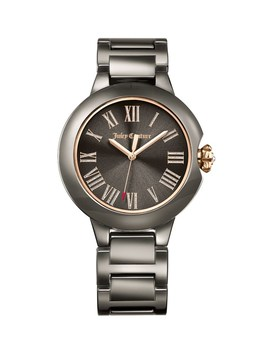 Silver Burbank Watch by Juicy Couture