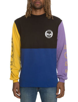 The Mid Mountain Long Sleeve In Multi Colors by 10 Deep