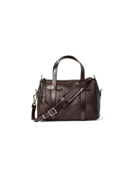 Weatherproof Leather Satchel Bag by Filson