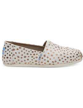 Rose Gold Dots Women's Classics by Toms