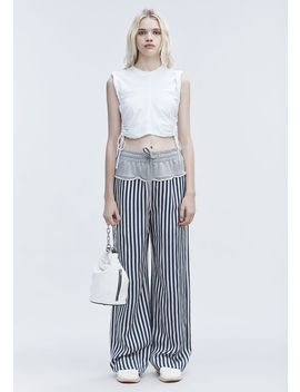 Ruched Crop Top by Alexander Wang