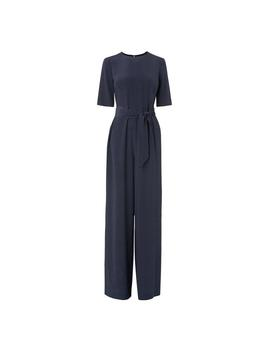 Loren Navy Jumpsuit by L.K.Bennett