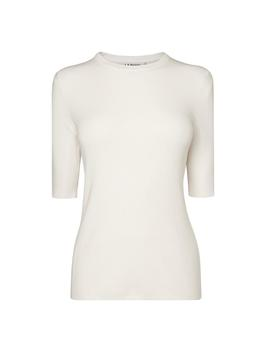 Tomasi Cream Knit Top by L.K.Bennett