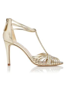 Dorothy Gold Metallic Sandal by L.K.Bennett